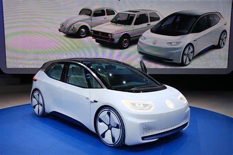 Volkswagen Cars by 2016 Volkswagen I D Electric Concept Car Gtspirit