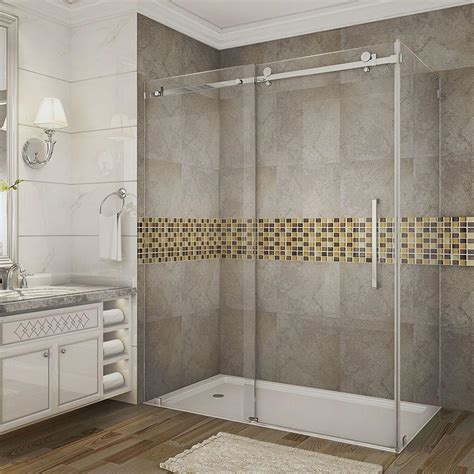 how do i clean glass shower doors clear shower doors showers the home depot