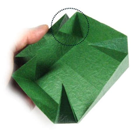 large origami box how to make a large square origami box page 7