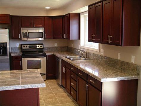 cherry wood kitchen cabinet doors cherry wood kitchen cabinets with black granite knotty
