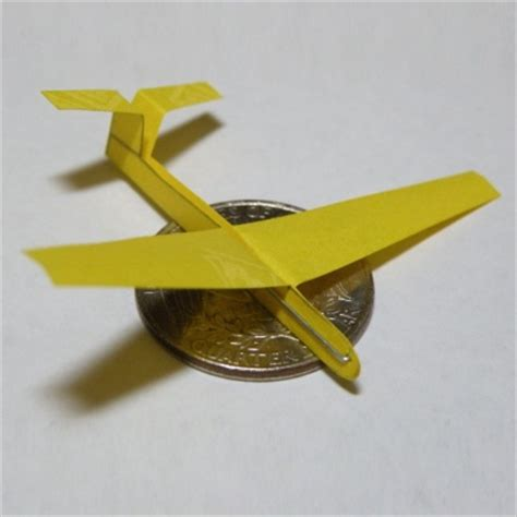 origami glider plane from instructables