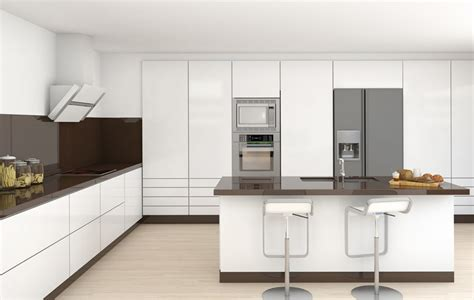white and brown kitchen designs 35 beautiful white kitchen designs with pictures