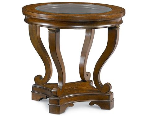 Thomasville Dining Room deschanel round lamp table thomasville furniture