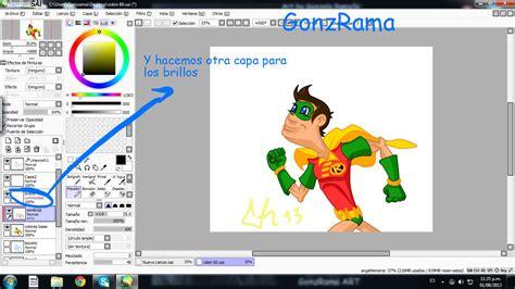 paint tool sai 2 español tutorial basico de paint tool sai taringa