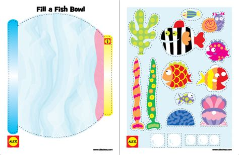 printable crafts for printable 3 fish crafts alexbrands