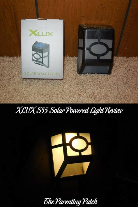 solar powered lights review xlux s55 solar powered light review parenting patch