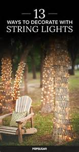 how to wrap lights around tree branches 17 best ideas about lights in trees on