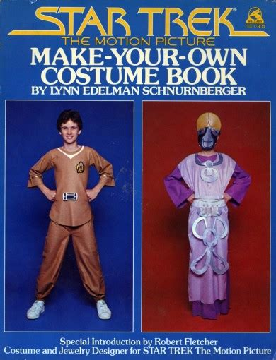 make your own picture book trek make your own costume book brian carnell