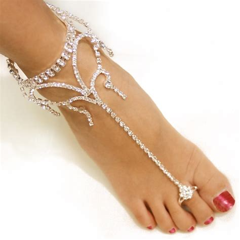 how to make foot jewelry with beautiful wedding foot jewelry collection nationtrendz