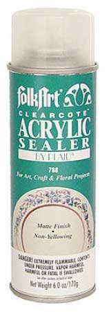 acrylic paint sealer for canvas folkart matte acrylic sealer spray mediums and finishes