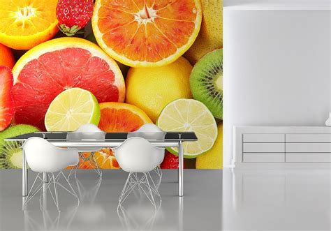 wall murals for kitchen fruits kitchen wall decor paper wallpapers store