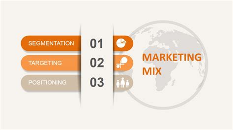 stp marketing mix for powerpoint slidemodel