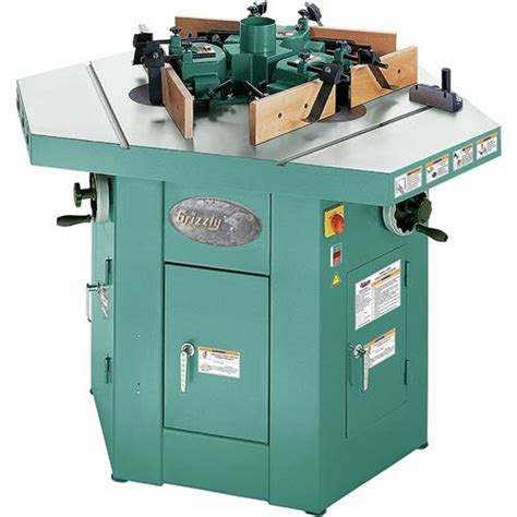 shaper woodworking three spindle shaper grizzly industrial