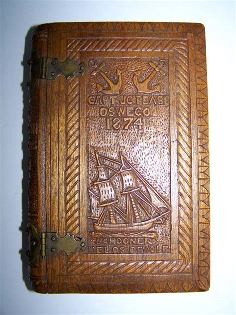 antique woodworking books a 19th century carved wood three book cover for