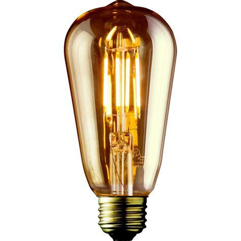 led light bulbs for the home archipelago 40w equivalent warm white st19 lens
