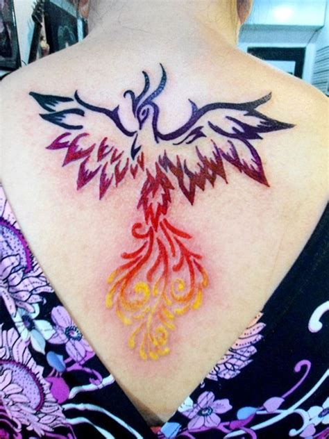 30 best phoenix tattoos for women