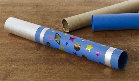 paper telescope craft diy craft telescope highlights