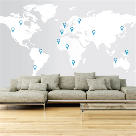 large world map wall sticker large world map wall decal wallboss wall stickers wall