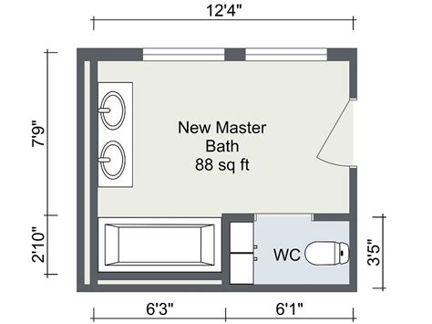 design bathroom floor plan bathroom remodel roomsketcher