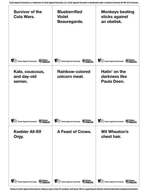make your own cards against humanity 14 best cards against humanity ideas images on