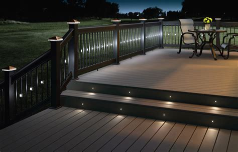 patio deck lighting recessed patio lights 6751