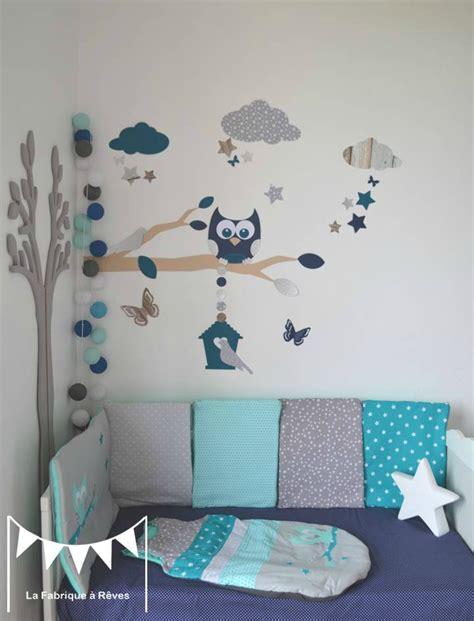 chambre bebe bleu et marron paihhi