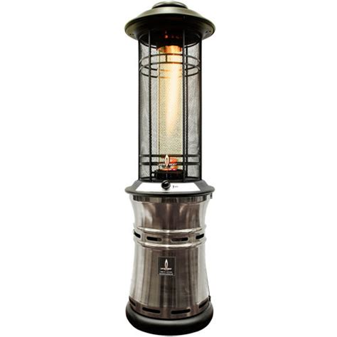 electric patio heater costco lava heat ember gun metal collapsible patio heater 187
