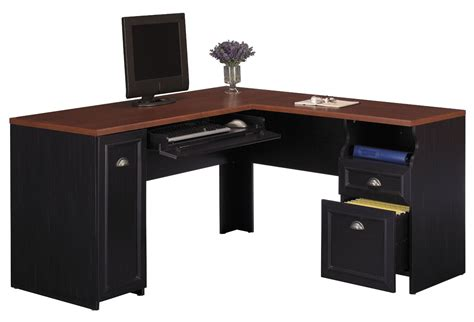desks office furniture black desk black corner desk