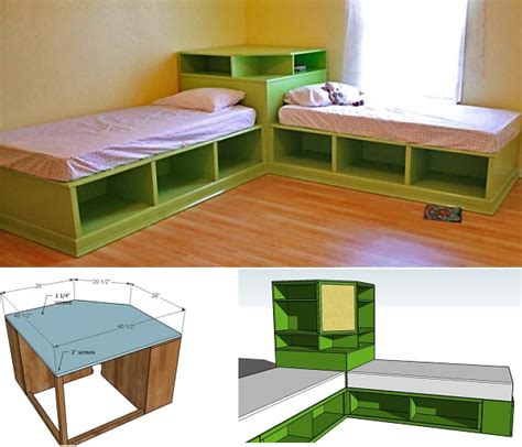 corner beds with storage diy corner beds with storage home design garden