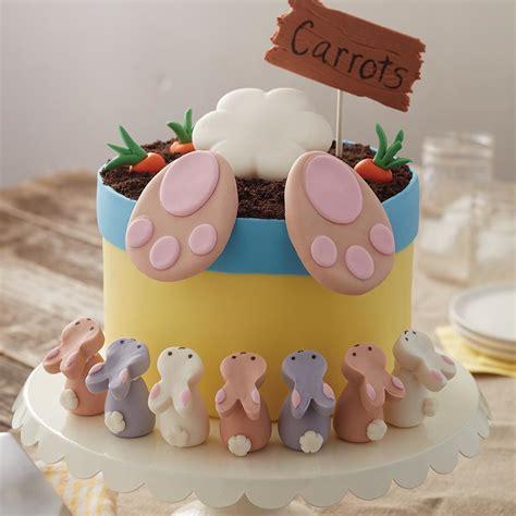 cake decorating ideas uk bunny easter cake and bunny treats wilton