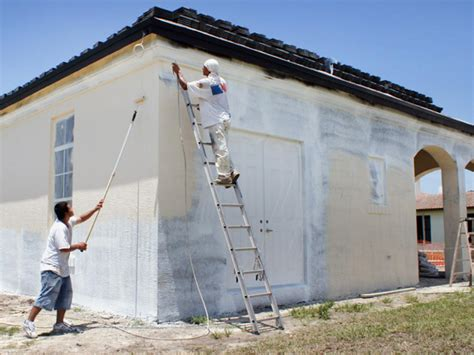 spray painter house how to paint the exterior of a house hgtv