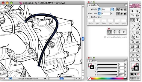 illustrator rubber st tutorial vector illustration tutorial on drawing hoses and wires