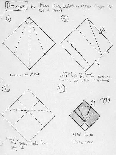intermediate origami diagrams joseph wu origami