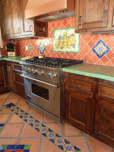 mexican tile kitchen ideas kitchen remodel using mexican tiles by kristiblackdesigns kristi black designs