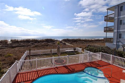 myrtle house rentals with pool oceanfront cherry palms vacation rental myrtle rental