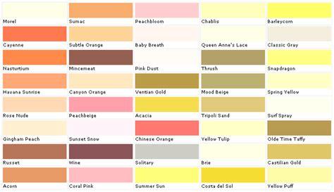 home depot paint color palette home depot yellow exterior paint swatch palette