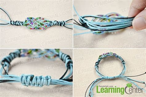 how to end a beaded bracelet how to make a sailor knot friendship bracelet with pony