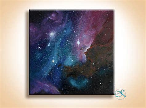 spray paint nebula painting space galaxy nebula painting