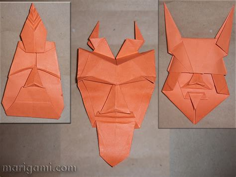 copy paper origami gallery favorite origami models folded by mari