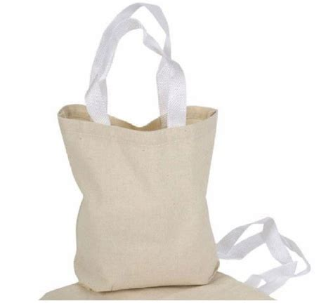 craft bags for 12 canvas tote bags color 8 quot x 8 quot new small