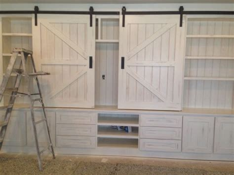 entertainment cabinets with doors entertainment center the barn door hardware