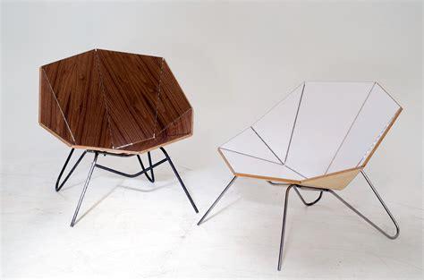 furniture origami cut fold modern origami like furniture design milk