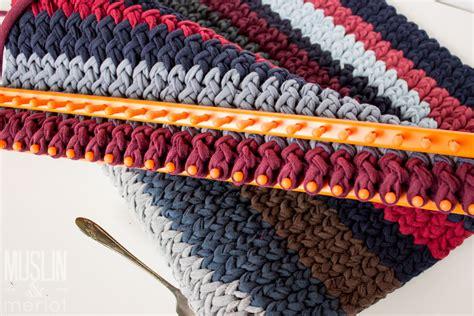 knitting looms at knitting loom t shirt rug muslin and merlot