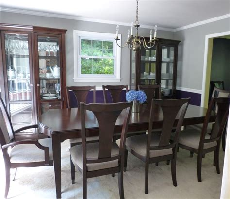 behr paint colors gray purple i my new royal purple and gray dining room behr
