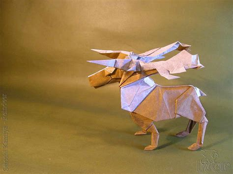 origami reindeer 23 wonderful origami woodland animals