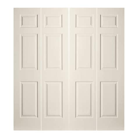 6 panel bifold closet doors 6 panel bifold closet doors shop reliabilt no frame 6