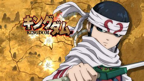 kingdom anime crunchyroll kingdom anime info