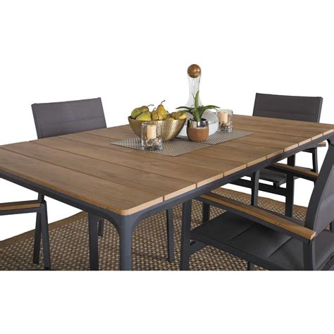 5 patio dining set carbon oak 5 patio dining set z 5010t z 5020ac 4