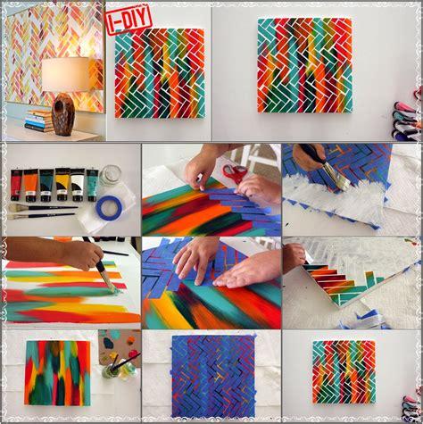 paint diy diy herringbone painting diy craft projects