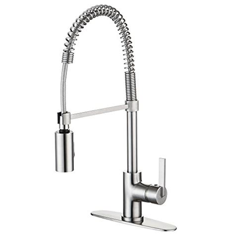 industrial kitchen faucets stainless steel enzo rodi erf7209251ap 10 modern commercial kitchen faucets with pull sprayer stainless